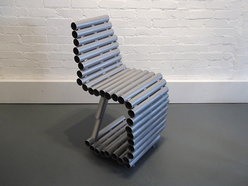 Tube Chair exhibited at Williams Art