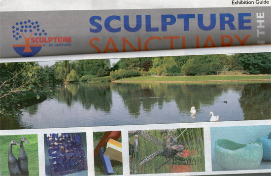 Cambridge based sculptor exhibiting at Sculpture in the Sanctuary